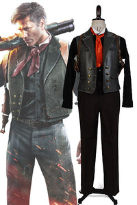 Bioshock Infinite Booker DeWitt Cosplay Costume
