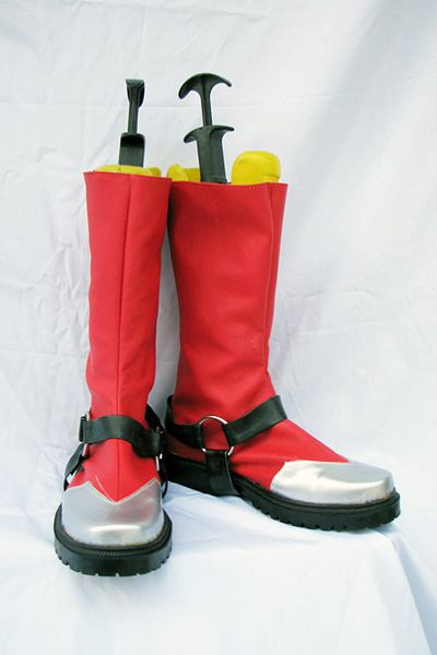 Blazblue Ragna The Bloodedge Cosplay Chaussures