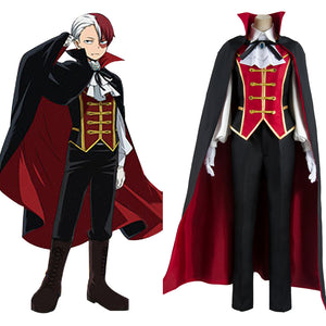 Boku no Hero Academia My Hero Academia Todoroki Shouto Halloween Cosplay Costume