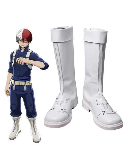 Boku no Hero Academia Shoto Todoroki Cosplay Chaussures