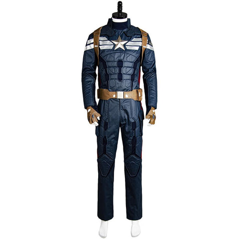 Captain America 2 The Winter Soldier Uniform de Steve Rogers Cosplay Costume