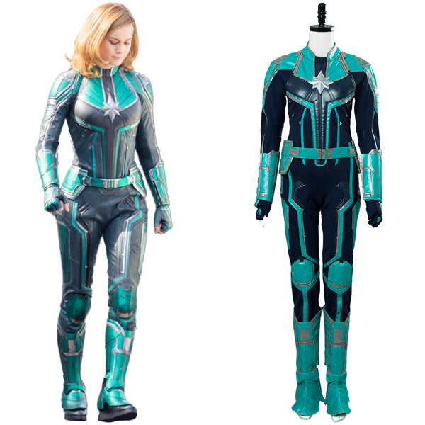 Captain Marvel Ms. Marvel Carol Danvers Cosplay Costume