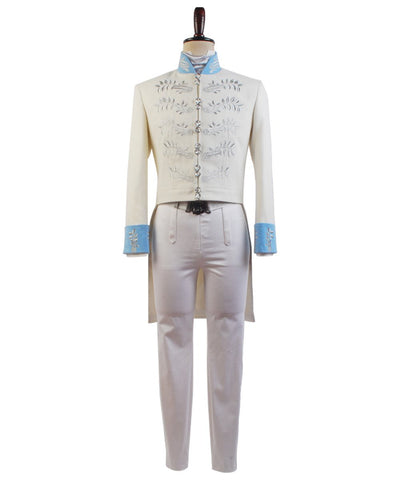 Cendrillon 2015 Film Prince Charming Kit Uniforme Cosplay Costume