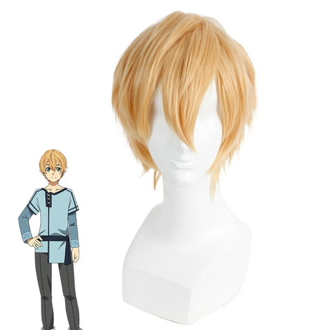 Sword Art Online Alicization Eugeo Cosplay Perruque