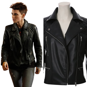 DC TV Batwoman Kate Kane Veste Cosplay Costume