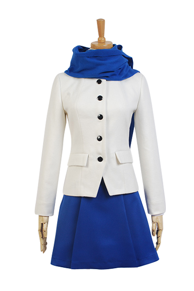 Fate/stay night Saber Arthur Arturia Cosplay Costume