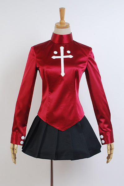 Fate/stay night Rin Tohsaka Cosplay Costume Version 1