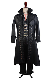 Once Upon A Time Capitaine Hook Cosplay Costume