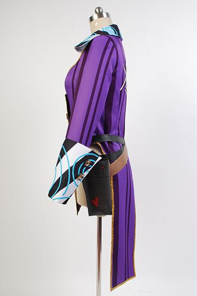 Borderlands 2 Mad Moxxi Uniforme Pourpre Cosplay Costume