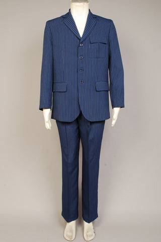Doctor WHO Dr Costume Bleu Cosplay Costume