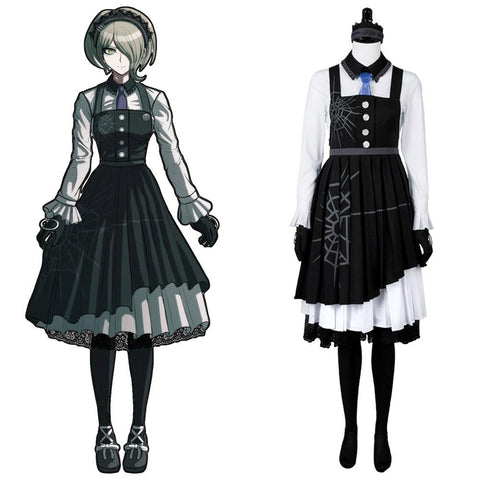 Danganronpa 3 Killing Harmony Kirumi Tojo Maid Robe Cosplay Costume