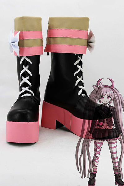 Danganronpa Another Episode Kotoko Utsugi Cosplay Chaussures