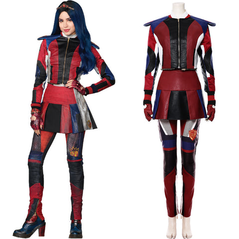 Descendants 3 Evie Costume Enfant Cosplay Costume