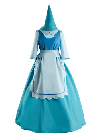 Disney Cendrillon Souris Perla Robe Bleu Cosplay Costume