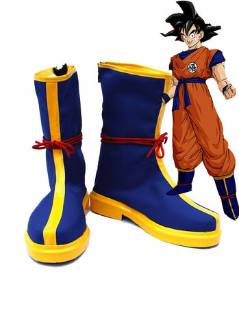 Dragon Ball Goku Bottes Bleues Cosplay Chaussures