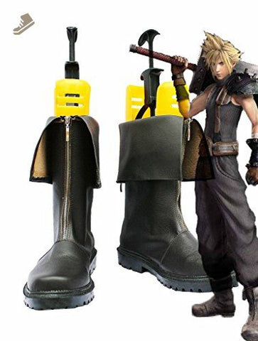 FF 9 Dissidia 012: Duodecim Final Fantasy Cloud Cosplay Chaussures