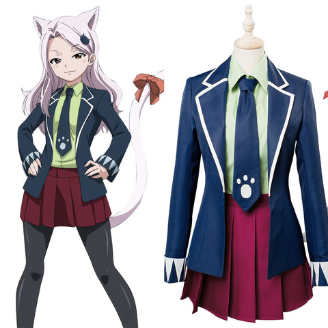 Fairy Tail : Final Series Carla Human Form Cosplay Costume