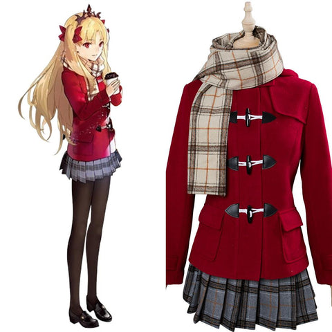 Fate Grand Order Ere Ere-Chan Costume D'hiver Cosplay Costume