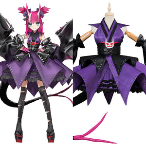 Fate Grand Order FGO Elisabeth Bathory Halloween Kimono Cosplay Costume