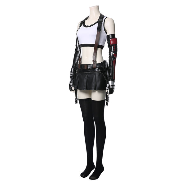 Final Fantasy VII : Remake FF7 FF VII Tifa Lockhart Cosplay Costume