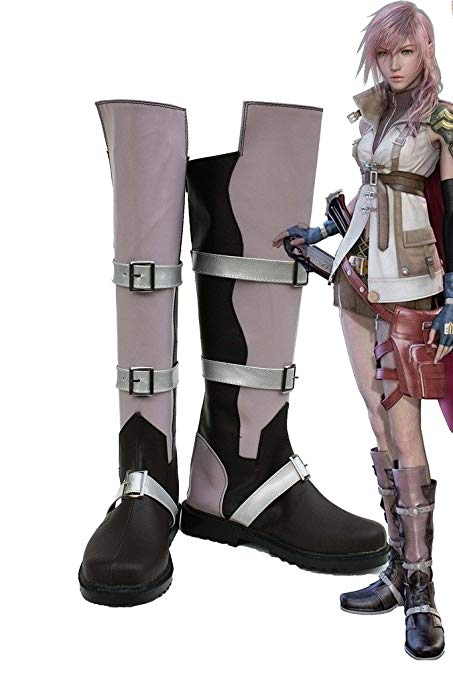Final Fantasy XIII Lightning Cosplay Chaussures