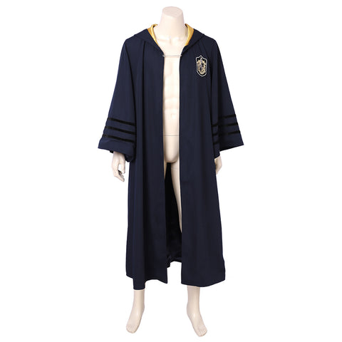 Harry Potter Les animaux fantastiques Newt Scamander Hufflepuff Cape Cosplay Costume