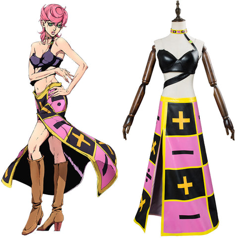 JoJo's Bizarre Adventure Golden Wind Trish Una Robe Cosplay Costume
