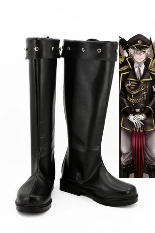 K Return Of Kings Uniforme Militaire Bottes Cosplay Chaussures