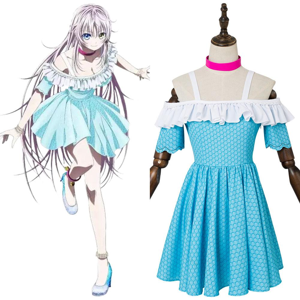 K: Seven Stories Neko Robe Bleue Cosplay Costume