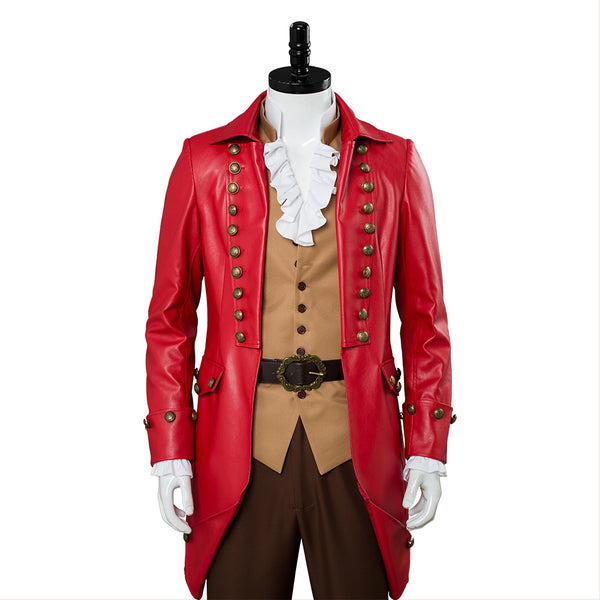 La Belle et la Bete Film Gaston Costume Cosplay Costume