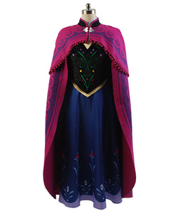 La Reine Des Neiges Princesse Anna Cosplay Costume