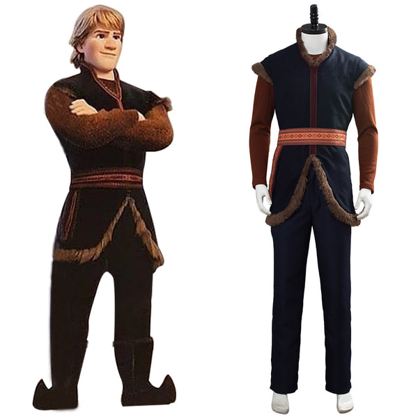 La Reine des neiges 2 Frozen 2 Kristoff Cosplay Costume