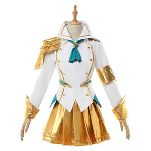 League of Legends LOL Battle Academy Prestige Lux Cosplay Costume