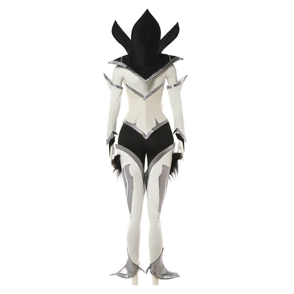 League of Legends LOL Kaisa Costume Blanc Cosplay Costume