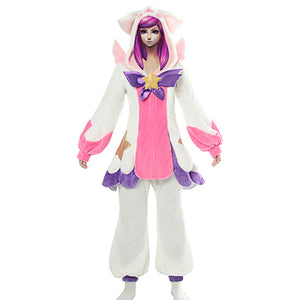 League of Legends LOL Lux Pyjama Cosplay Costume
