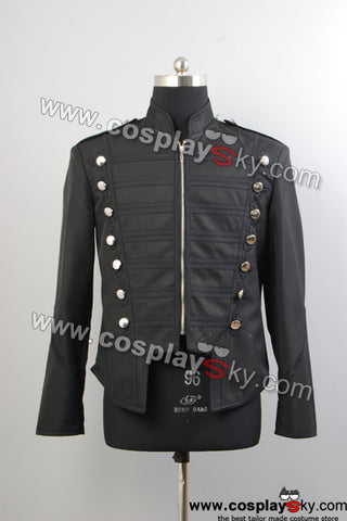 My Chemical Romance Defile Militaire Veste Noire Cosplay Costume