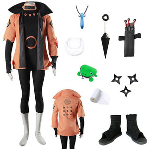 Naruto: Shippuden Naruto Six Paths Sage Mode Cosplay Costume
