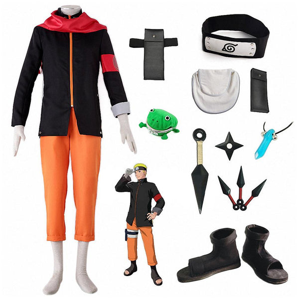 Naruto The Last: Naruto the Movie Naruto Cosplay Costume