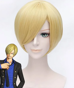 One Piece Sanji Cosplay Perruque