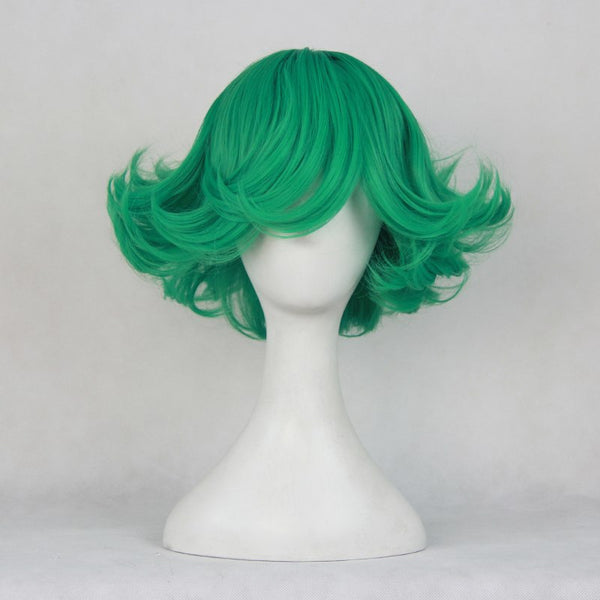 One Punch Man Tornado of Terror Tatsumaki Cosplay Perruque