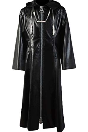 Organization XIII Kingdom Hearts II Manteau Cosplay  Costume Version Nouvelle