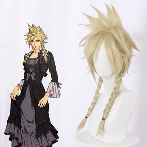 Final Fantasy VII Remake Cloud Strife  Cosplay Perruque