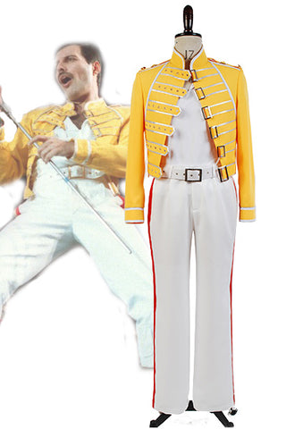 Queen plomb Voix Freddie Mercury Costume Cosplay