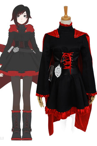 RWBY Red Trailer Ruby Cosplay Costume