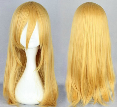 Shingeki no Kyojin Attack on Titan Christa Lenz Cosplay Perruque