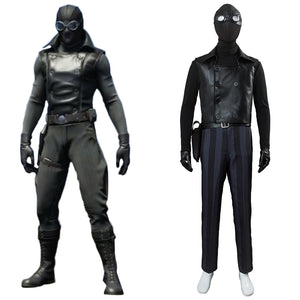 Spider-Man Into the Spider-Verse Spider-Man Noir Cosplay Costume
