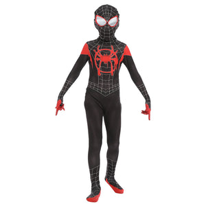 Spider-Man Into the Spider-Verse Spiderman Costume Enfant Cosplay Costume