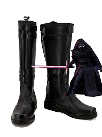 Star Wars Episode VII : Le Reveil de la Force Kylo Ren Cosplay Chaussures