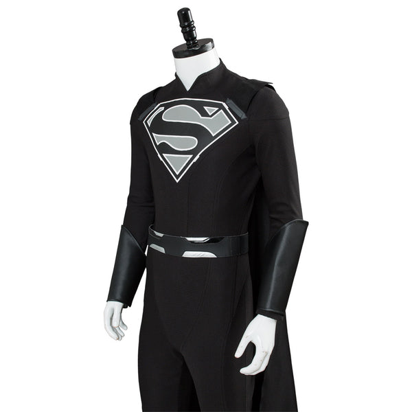 Supergirl Elseworlds Superman Tyler Hoechlin Combinaison Noire Cosplay Costume