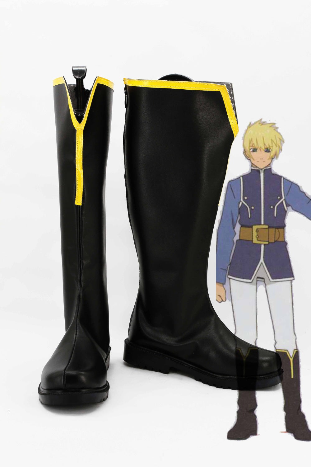 Tales of Vesperia Flynn Scifo Cosplay Chaussures